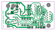 RS232-RS485 PCB bottom